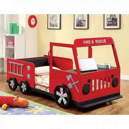 Furniture of America CM7767BED Rescuer Series  Twin Size Bed
