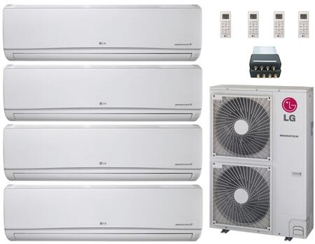 LG 704653 Quad-Zone Mini Split Air Conditioners