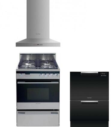 Fisher Paykel 719055 Kitchen Appliance Packages