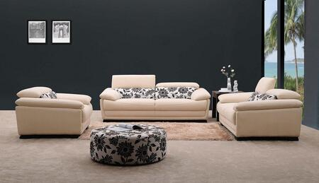 VIG Furniture VG0871 Modern Fabric Living Room Set