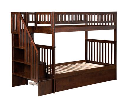 Atlantic Furniture AB56654  Twin Size Bunk Bed