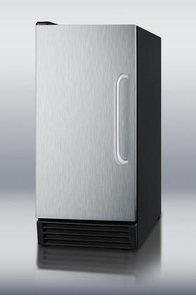 Summit BIM44  Built-In Ice Maker with 44 Daily Ice Production, 25 Ice Storage, in Stainless Steel