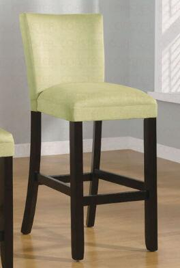 Coaster 100590GRN Bloomfield Series Residential Fabric Upholstered Bar Stool