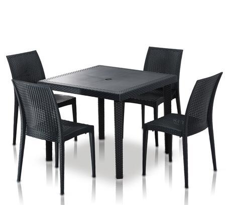VIG Furniture VGIGBISTROTTABLESQUARESET