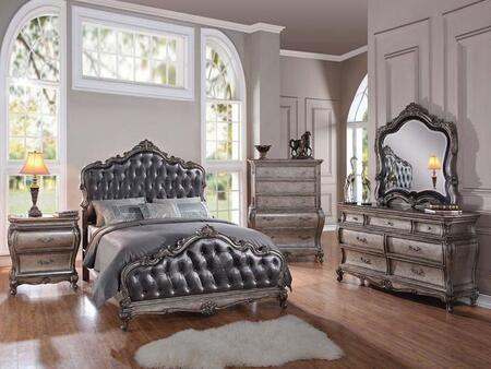 Acme Furniture 20534CK5PCSET Chantelle California King Bedro