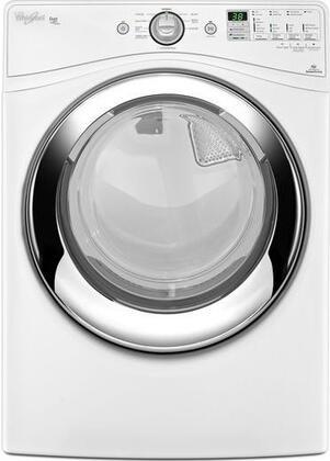 Whirlpool Wed86hebw Duet Series Electric Dryer With 7 4 Cu Ft Capacity