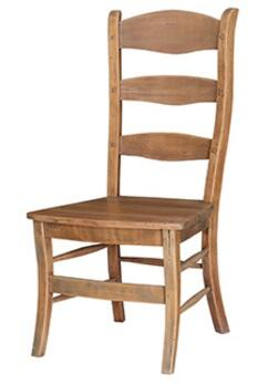 Bramble 25652 Homestead Series Transitional Wood Frame Dining Room Chair