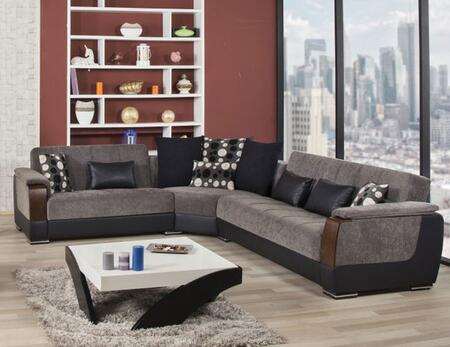 Sectional Bed Brown