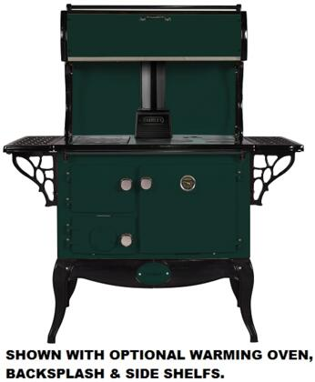 Stanley WSERWBNBGRN  Woodburning Freestanding Range with 1.8 cu. ft. Primary Oven Capacity, in other