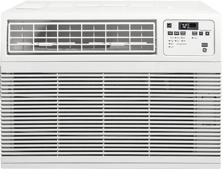 "GE AHMxDW 26"" Energy Star Qualified Room Air Conditioner with Electronic Digital Thermostat, 3 Cooling / 3 Fan Speeds, Slide-Out Chassis, Energy Saver Mode, and Filter Reminder Light, in White"
