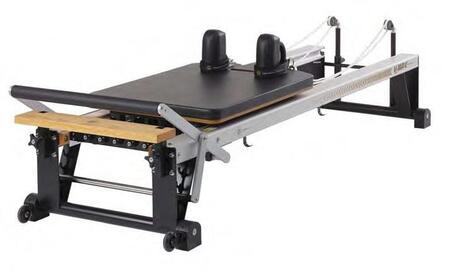 MERRITHEW ST010V2 V2 Max Reformer with Patented Retractable Rope System and Enhanced Srpings with Neoprene Spring Covers
