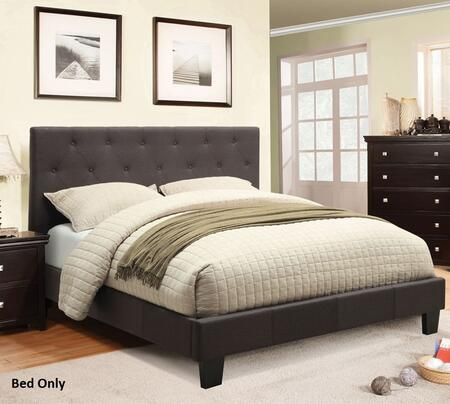 Furniture of America CM7200LBQBED Leeroy Series  Queen Size Bed