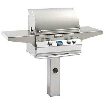 "FireMagic A430S-6L1N Aurora 55"" Natural Gas Grill with Infrared Burner and Back Burner"