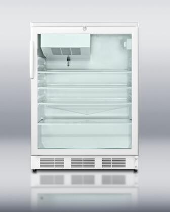 Summit SCFF55GL Freestanding Upright Counter Depth Freezer