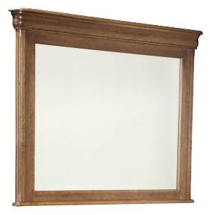 Durham 112182AR Vineyard Creek Series Rectangular Landscape Dresser Mirror