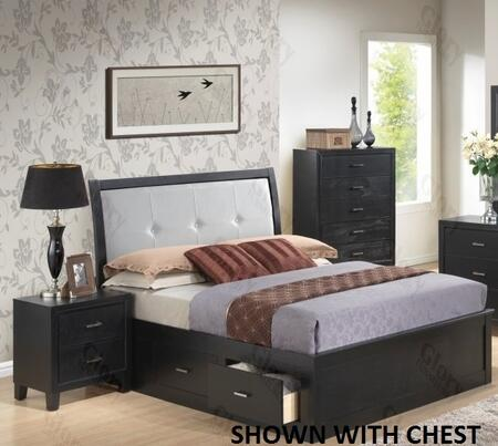 Glory Furniture G1250FTSB2N G1250 Twin Bedroom Sets
