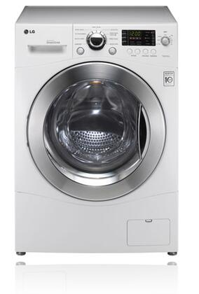 LG WM3455H Front Load Washer / Dryer Combo with 1300 RPM, Ventless Condensing Dryer, LoDecibel Quiet Operation and LED Display