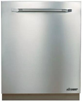 """Dacor RDW24S 24"""" Renaissance Series Built In Fully Integrated Dishwasher with 14 Place Settings Place Settingin Stainless Steel"""