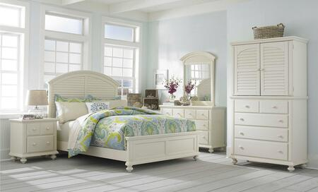 Broyhill 4471CKPBNMCDM Seabrooke California King Bedroom Set