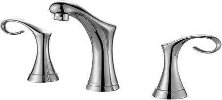 """Kraus FUS13103 Premier Series Cirrus 8"""" Bathroom Basin Widespread Faucet with Solid Brass Construction, Neoperl Aerator, and Ceramic Cartridge"""