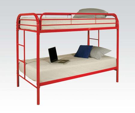 Acme Furniture 02188RD Thomas Series  Twin Size Bunk Bed