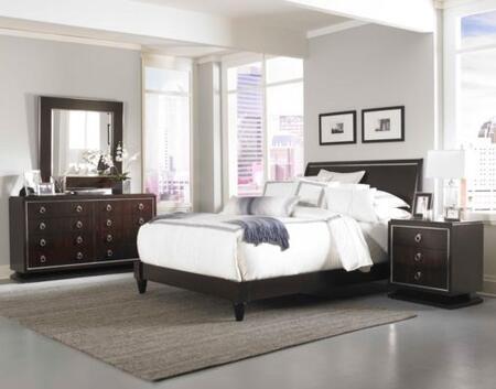Broyhill PINSTRIPEBEDQSET5 Pinstripe Queen Bedroom Sets