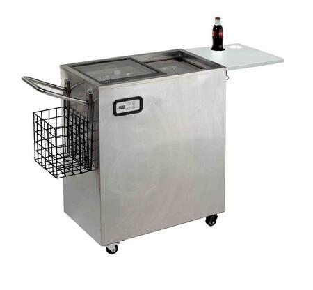 Avanti ORC2519SS 11 Built In Top Freezer Outdoor Refrigerator