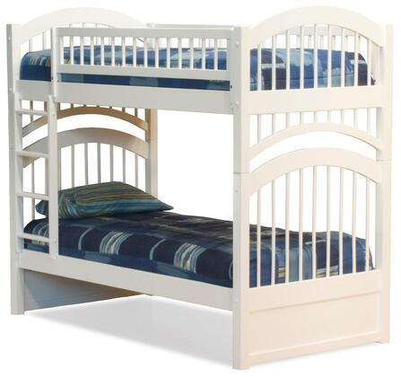 Atlantic Furniture AB57102  Twin Size Bunk Bed
