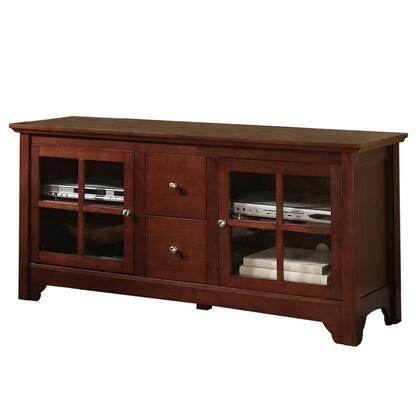 Walker Edison W52C2DW 52 Inch TV Stand with Drawers