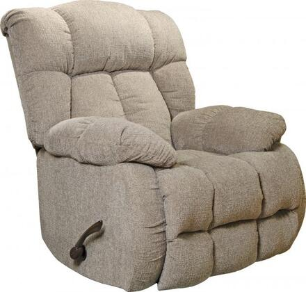 "Catnapper Brody Collection 47742 41"" Rocker Recliner with Compartment-Back Design, Steel Seat Box, Comfort Coil and Soft Durable Chenille Fabric Upholstery"