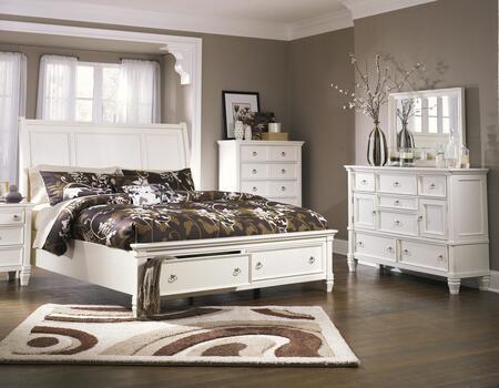 Milo Italia BR768KSBDMC Hanson King Bedroom Sets