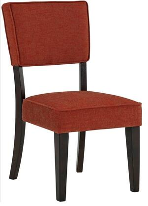 Signature Design by Ashley D53204BRK Gavelston Series Casual Fabric Wood Frame Dining Room Chair