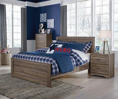 Milo Italia BR2382PCFP2DNKIT1 Manning Full Bedroom Sets