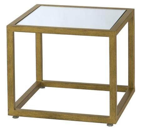 Allan Copley Designs 2090302 Grace Series Contemporary Rectangular End Table