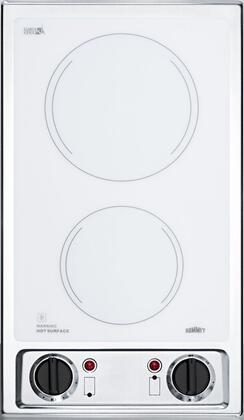 Summit CR2B120WH Electric Cooktop