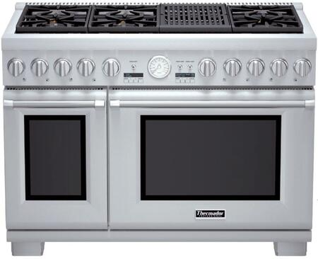 Zoom In Thermador Pro Grand Prd486nlgu 48 Inch Dual Full Range With Grill