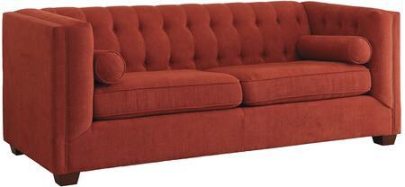 Coaster 504907 Cairns Series Stationary Fabric Sofa