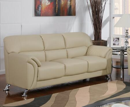 Global Furniture USA U9103CAPPS  Stationary Leather Sofa