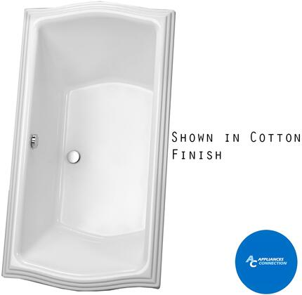 Toto ABY781NN Clayton Series Drop-In Soaker Bathtub with Acrylic Construction and Slip-Resistant Surface