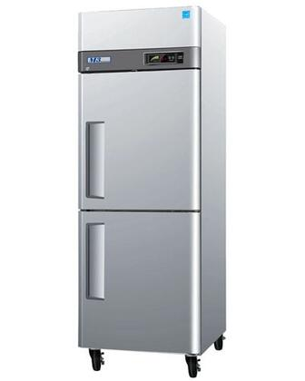 Turbo Air MF3 M3 Series Freezer with Solid Half Doors, Digital Temperature Control System, Hot Gas Condensate System, Efficient Refrigeration System and Stainless Steel Cabinet Construction