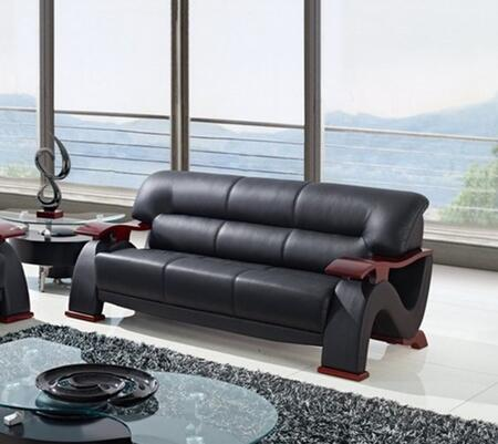 Global Furniture USA U2033BLS  Stationary Bonded Leather Sofa