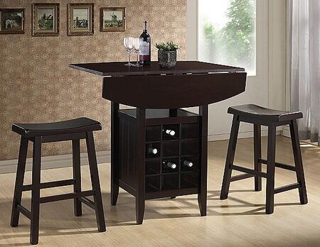"Wholesale Interiors RT227PUBSTOOLSET 20""-35"" Wine Bar,"