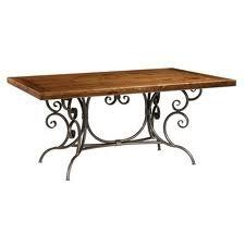 Stone County Ironworks 901-124 Waterbury Dining Table