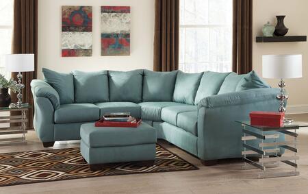 Milo Italia MI7909SSOSKY Tristian Living Room Sets
