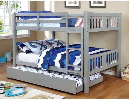 Furniture of America CMBK929GYBEDT Cameron Twin Bedroom Sets
