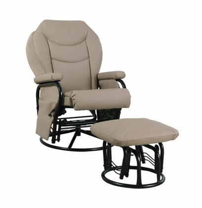 Coaster 7040 Casual Wood Frame  Recliners