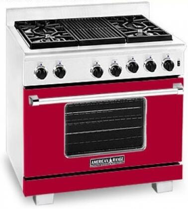 American Range ARR364GDLBR Heritage Classic Series Liquid Propane Freestanding